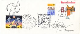 U.S. COLUMBIAN EXPO. COVER, SIGNED By DESIGNER. - First Day Covers (FDCs)