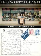 Variety Fair 5 And 10 Store, Houston, Texas, United States US Postcard Used Posted To UK 1998 Stamp - Houston