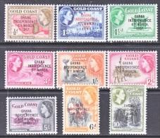 GHANA   5-13  *  INDEPENDENCE - Ghana (1957-...)