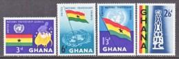 GHANA   67-70  **  UN - Ghana (1957-...)