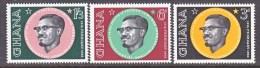 GHANA   118-20  ** - Ghana (1957-...)