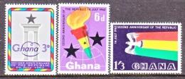 GHANA   121-3   ** - Ghana (1957-...)