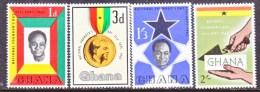 GHANA   124-7   ** - Ghana (1957-...)