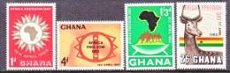 GHANA   135-8  **  FREEDOM DAY - Ghana (1957-...)