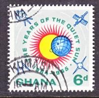 GHANA   187  (o)  SPACE IQSY - Ghana (1957-...)