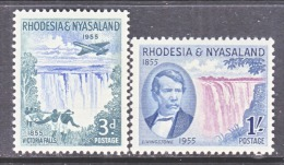 RHODESIA & NYASALAND  156-7  * - Rhodesia & Nyasaland (1954-1963)