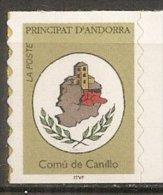 ANDORRE - Série Courante: Blason De Canillo - French Andorra