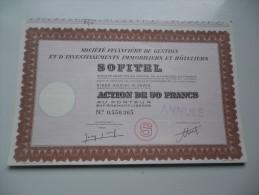 Hotels SOFITEL (50 Francs) - Actions & Titres