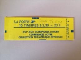 MARIANNE DE BRIAT - 2,30F Rouge- Carnet YT 2614 C7a -  Daté 1 Er MAI  - ERREUR DE DATE - Carnets