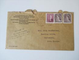 Kanada 1954 Dienstpost / Dienstmarken. Department Of Veterans Affairs. St. Anne's Hospital - Perfins