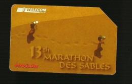 799 Golden - 13à Marathon Des Sables Da Lire 15.000 Telecom - Italia