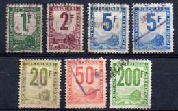 France ; 1944/47 ; Colis Postaux , Petits Colis; N° 1 à + ; Ob ; 7 T. ; Cote Y(2006) : 12.00 E. - Colis Postaux