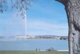 Water Jet On Lake Burley Griffin, Canberra - C1.6.76 Prepaid PC Unused - Canberra (ACT)