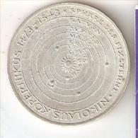 MONEDA DE PLATA DE ALEMANIA DE 5 MARK DEL AÑO 1973 NIKOLAUS KOPERNIKUS (COIN) SILVER,ARGENT. - [ 7] 1949-… : RFA - Rep. Fed. Alemana