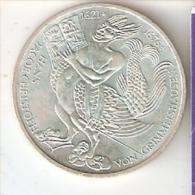 MONEDA DE PLATA DE ALEMANIA DE 5 MARK DEL AÑO 1976 JACOB CHRISTOPH (COIN) SILVER,ARGENT. - [ 7] 1949-… : RFA - Rep. Fed. Alemana