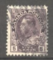 Canada N° 113 Oblitéré  Cote 1 €  Au Quart De Cote - 1851-1902 Reign Of Victoria