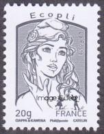 France Marianne De La Jeunesse Par Ciappa Et Kawena N° 4766 ** Le Timbre Gommé,  20 Grammes écopli Gris - 2013-... Marianne (Ciappa-Kawena)