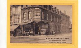 BELGIQUE/FLANDRE OCCIDENTALE/LA PANNE/COMMERCES/HÔTELS/R ESTAURANTS / Hôtel Restaurant De La Digue Prop.VAN GAVEREN-COEN - De Panne