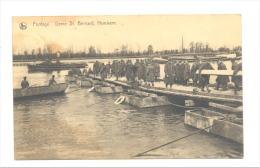 HEMIKSEN St Bernard - Armée Belge - Pontage  Génie   (2048)b139 !!!   Quelques Auréoles, Voir Scan - Hemiksem