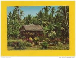 POSTCARD 1960ys PHILIPPINES ST. MARIA ZAMBOANGA CITY RUTAL ARCHITECTURE - Filipinas