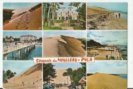 CPM CARTE POSTALE MODERNE - 33 - GIRONDE - LE MOULLEAU - PYLA  écrite  Timbrée 1968 - Autres Communes