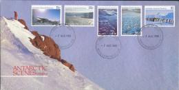 Australian Antartic Terriotory 1985 - FDC - Antarctic Scenes (series 2) - FDC