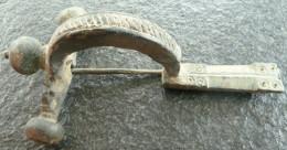 #NSA15 - Römische Bügelfibel - Roman Fibula - Legionärs Fibula!! Intakt! - Bronzes