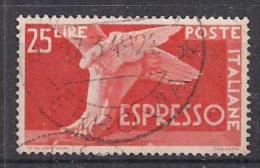 ITALIA 1945 DEMOCRATICA ESPRESSI SASS.28 USATO VF - 6. 1946-.. Repubblica