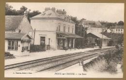 PONT Sur YONNE -- La Gare -- GARE - Pont Sur Yonne