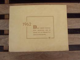 Kunstmap  STIJN  STREUVELS  - Heule  - 1962 - Signatuur - Uitgeverij UGA - Historical Documents