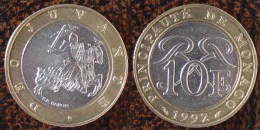 (J) MONACO: 10 Francs BIM 1992 UNC (185) - 1960-2001 Francos Nuevos