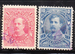 Costa Rica 1884-88 Postal Fiscal Stamp Used - Costa Rica