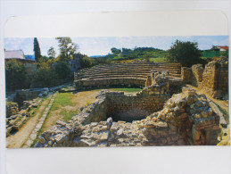 Postcard  Khersones Ruini Antichnogo Teatra - Ancient City Of Tauric Chersonese And Its Chora (Ukraine) - UNESCO 2013 - Ukraine