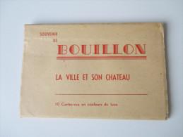 AK / Leporello Souvenir De Bouillon. La Ville Et Son Chateau. 10 Cartes En Couleurs De Luxe. Photo Lander Eupen. - Sonstige