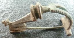 #NSA10 - Römische Bügelfibel - Roman Fibula -Fibula - Form!! - Bronzes