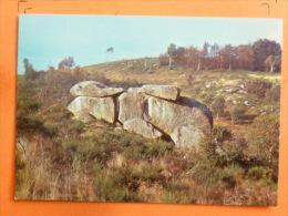 V09-71-A-saone Et Loire-les Roches D'uchon--le Lapin-- - France