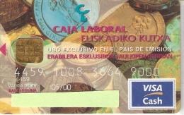 TARJETA DE ESPAÑA DE CON UNAS MONEDAS (MONEDA-COIN) CHIP DISTINTO - Sellos & Monedas