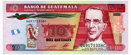 GUATEMALA 10 QUETZALES 2011 Pick 123b Unc - Guatemala