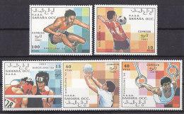 Olympics 1992 - Soccer - WESTSAHARA - Set MNH - Ete 1992: Barcelone