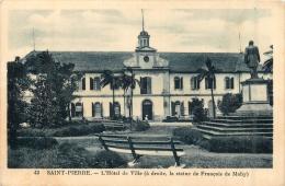 LA REUNION  SAINT PIERRE  L´HOTEL DE VILLE LA MAIRIE - Saint Pierre