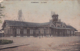 Termonde 29: La Gare 1913 - Dendermonde