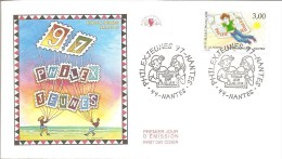 1997 ENVELOPPE PREMIER JOUR PHILEXJEUNES 97 - FDC