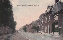 Courcelles 46: Rue Antoine Carnière 1918 - Courcelles