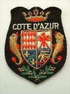 ECUSSON TISSUS BRODE  - COTE D'AZUR - Patches