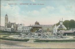BRUXELLES : Exposition De 1910 -  Le Bassin - Expositions Universelles