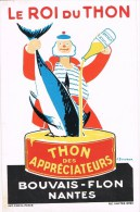 8125. Postal Publicitaria LE ROI Du THON. Nantes - Reclame