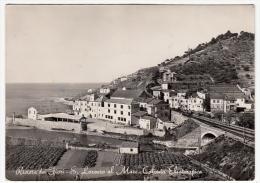 RIVIERA DEI FIORI - S. LORENZO AL MARE - COLONIA ELIOTERAPICA - IMPERIA - 1951 - Imperia