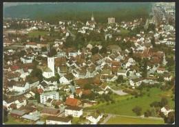 BÜLACH Flugaufnahme Ansicht Von Süd-Ost Hinten Spital Und Bahnhof 1973 - ZH Zurich