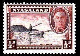 1945 - NYASALAND - **/MNH - Mi 70 - KGVI AND NYASA LAKE - Nyasaland (1907-1953)