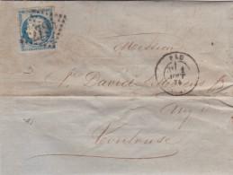LAC -   GC 2795   PAU   ( 64 )   BASSES-PYRENEES  -LOT 12137 -CACHET TYPE 17 - Storia Postale